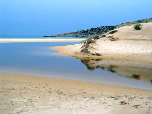 Natur Strand Sardinien