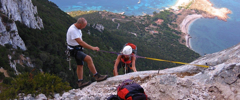 trekking climbing Sardinia